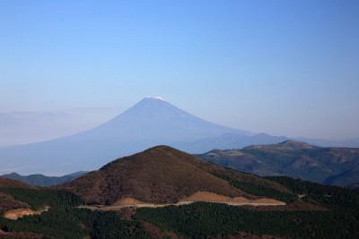 仁科峠より富士山